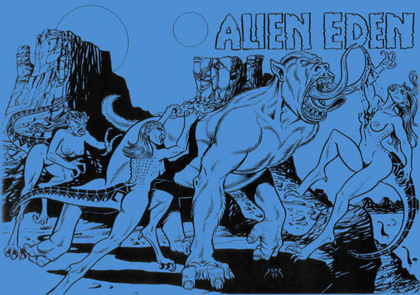 book cover - Alien Eden 1