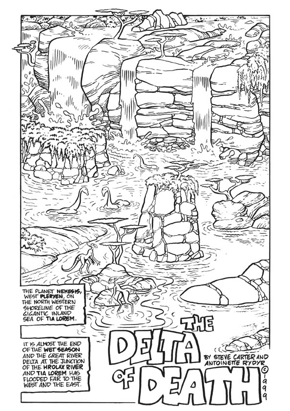 The Delta of Death page 1