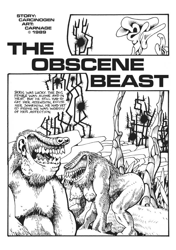 The Obscene Beast page 1