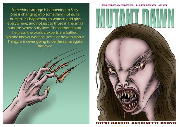 book cover - Diseased Libido #8 - Mutant Dawn