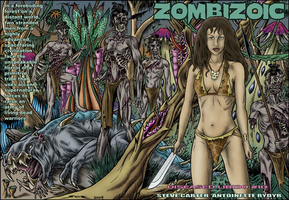 book cover - Diseased Libido #10 - Zombizoic