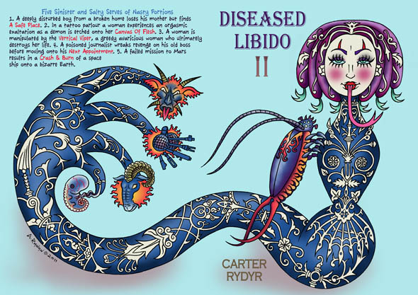 book cover - Diseased Libido #11 (Five Salty Serves)