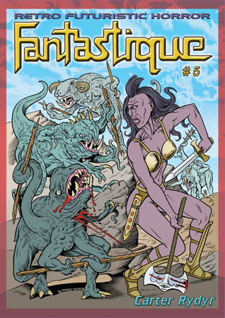 book cover - Fantastique #5