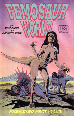 book cover - Femosaur World #1
