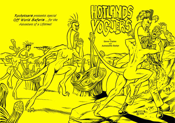 book cover - Hotlands Voguers #1