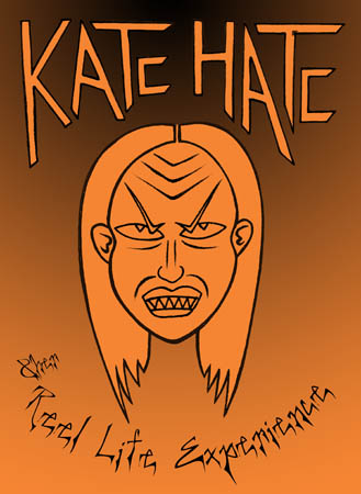 book cover - Kate Hate and her Reel Life Experience (issue 2)