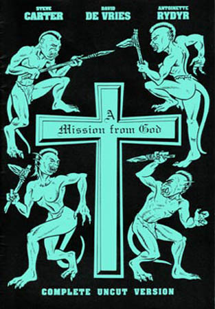 book cover - A Mission from God #1