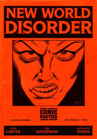 book cover - New World Disorder #1