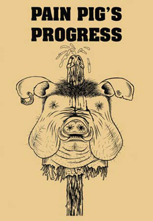 book cover - Pain Pig's Progress #1