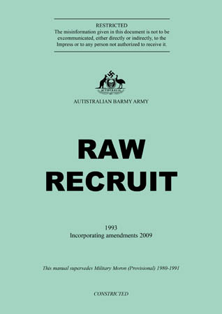 book cover - Raw Recruit (Welcome to the Hellhole)