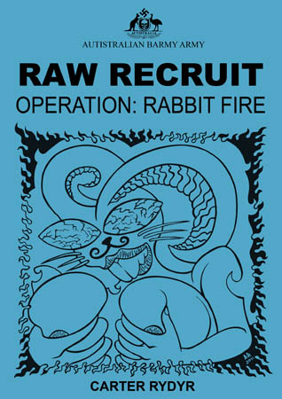 book cover - Raw Recruit - Operation: Rabbit Fire