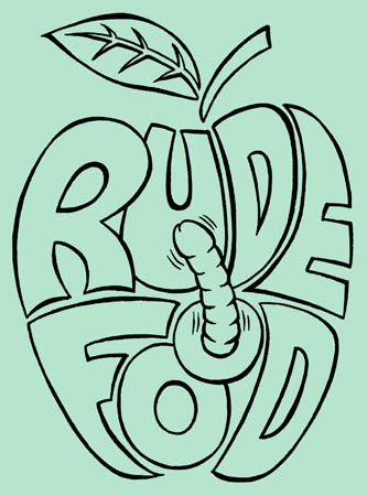 book cover - Rude Food #1
