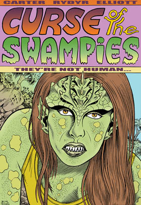Curse of the Swampies - Man is Their Prey poster