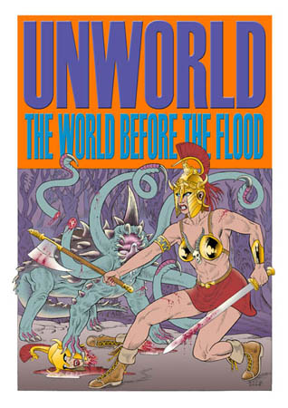 book cover - Unworld - The World Before the Flood #1