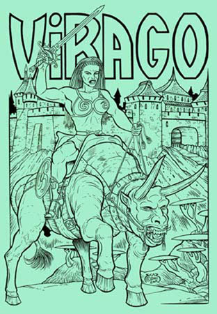 book cover - Virago #1
