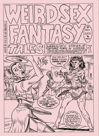 book cover - Weird Sex Fantasy Tales #1