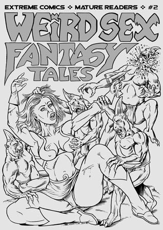 book cover - Weird Sex Fantasy Tales #2