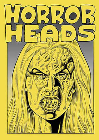 book cover - Horror Heads #1
